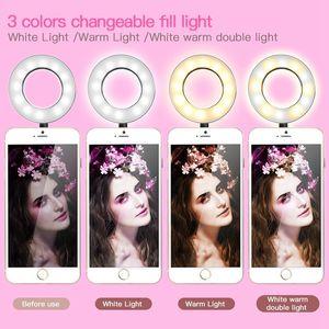 أعلى الصور الشخصية للحلقة الضوء مع الهاتف الخليوي حامل حامل لايف ستريم / ماكياج، UBeesize LED إضاءة الكاميرا acc017