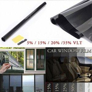 Side Janela Foils Proteção Solar Car Auto Janela Tinting Film VLT 50% Car Auto Casa Comercial Solar Proteção Verão yjsz #