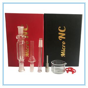 Nectar Collector 10 milímetros kit com tubo de vidro de quartzo domeless prego 10 milímetros nector óleo coletor plataformas água Tubos de vidro DHL livre para EUA