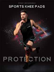 Hot selling knee support tennis bike riding badminton running fitness knee pads outdoor climbing sport knee pads fast shipping