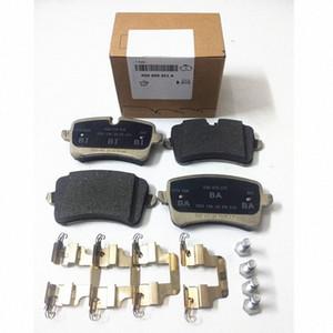 1Set OEM Rear Disc Brake Pads Rear Brake Friction Plates 300*12mm 330*22cm For A6 A6L A7 4G0 698 451 H 451 4G0 698 451 J 451 A nhyU#