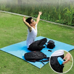 Ultra-light Camping Mat Waterproof Beach Blanket Outdoor Portable Picnic Ground Mat 70x110cm with Storage Bag