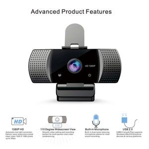 Full HD mini USB Webcam 1080P Streaming Web Camera manualfocus Webcam USB Computer Camera with Microphones for Laptop Desktop