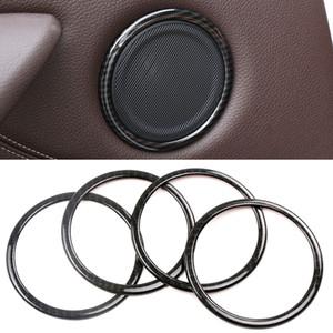 Acessórios porta do carro Speaker áudio Círculo Som guarnição moldura tampa da etiqueta Decoração moldagem para BMW X1 F48 2016-2020