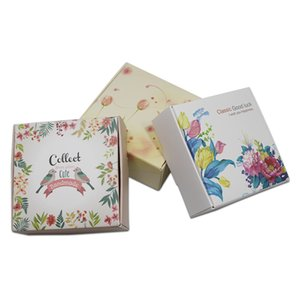 DHL Small DIY Gift Cardboard Wedding Party Boxes Jewellery Chocolate Candy Packaging Kraft Paper Handmade Soap Packaging Boxes