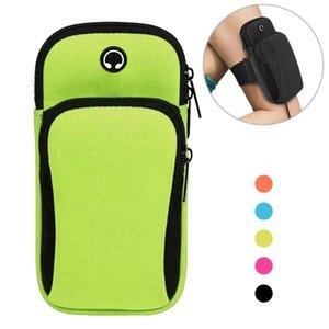 Telefone Braço banda Gym telefone Arm Caso exterior Correndo Bolsa Banda Waterproof equitação Bag Mulheres Homens Esporte Fitness Equipment