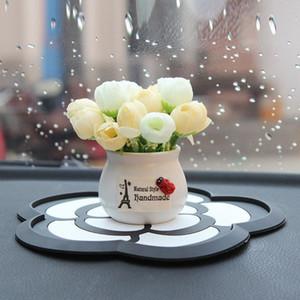 السيارات الحلي صور سيارات مزروع مصنع الزهور لوحة زينة الزهور الجميلة السيارات الداخلية ديكور زينة السيارات 66Qu #