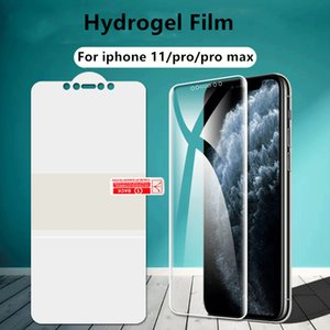 Screen Protector For iPhone 11 Pro Max X XS Max XR Full Cover Hydrogel Film For iPhone 7 8 SE 2020 Not Glass