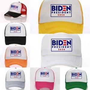 3wMoX Donald Biden Biden Cap İşlemeli 2020 Beyzbol tutun Amerika Büyük Kamuflaj Kamuflaj Kamyoncu Caps