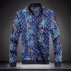 2020 Men Medusa Jackets Long Sleeve Zipper Jacket Fashion Pattern Print Slim Fit Windbreaker Mens Antumn Winter Outdoorwear Coats