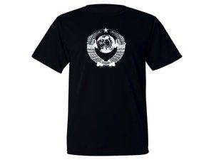팔의 러시아 소비에트 소련 CCCP 코트 증거 패브릭 운동의 새로운 주요 티셔츠를 땀