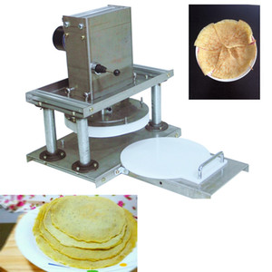 CE Elétrica Comercial Pizza Pizza Noodle Imprensa 22 centímetros Farinha de Trigo Noodle Press Machine bolo agarrando Máquina Tortilla Máquina