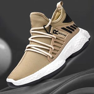 Running Shoes Breathable Outdoor Male Sports Shoes Lightweight Sneakers Anti-slid Comfortable Casual Athletic Trainers