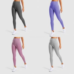 Women Legging Yoga Pants Colour-Coloured Stitching Exercise High Waist Fitness High Elasticity Running Athletic Trousers Pink#674
