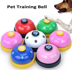 Fast Delivery Dog Toy Training Called Dinner Small Bell Footprint Ring Dog Toys For Teddy Puppy Pet Call Pet Interactive Toys Pet Supplies