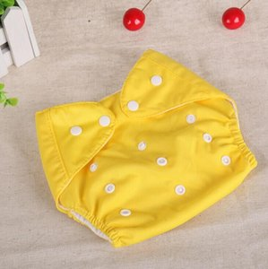 Baby Diapers Washable Reusable Nappies Grid Cotton Training Pant Cloth Diaper Baby Fraldas Winter Summer Version Diapers #54