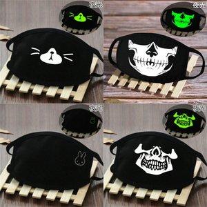 Comfort and Breathability mask facemask glow in the dark skeleton skeleton face bandana masks Comfort and lyhpshop rpiqi