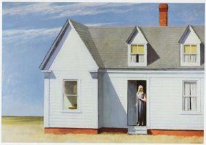 Açık Tuval Wall Art Canvas Resimler 200.802 Boyama High Noon Edward Hopper Ev Dekorasyonu Handpainted HD Baskı Yağ