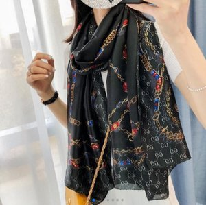 Neue Art und Weise Seidenschal Man Frauen Frühling Winter-Schal-Schal Schal Größe 180x90cm 1GDesigner 1GGG
