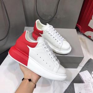 dames formateurs designer automne nouvelles petites chaussures blanches femmes chaussures de sport gâteau éponge cuir sauvage coréenne fond épais