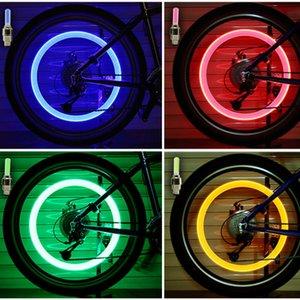 Firefly Falou LED Válvula Roda Stem Cap Tire Movimento Neon Lâmpada Luz para bicicleta Bicicleta Car Motorcycle