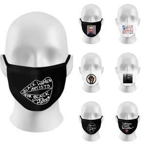 Wholesale Face Mask 3 Layer Ply Earloop Masks Prevent Anti Dust Safe Facemask Ski Pm2.5 Designer Letter Protective Designer Tru #914