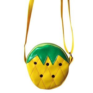 Cartoon Cute Shoulder Bag Kids Children Girls Fruit Shaped Messenger Handbag Purses Baby Girl Handbags Coin Purses