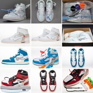 1 High OG Game Royal Banned Shadow Bred Toe NRG UNC White Men 1s Shattered Backboard Silver Medal Trainers Sneakers Off Basketball Shoes b22