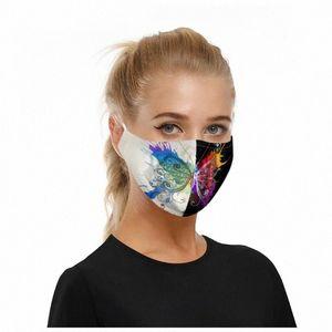 10pc algodón de la cara Maks reutilizable 2020 transpirable animal de la impresión de la boca de tela Maskking Dustpoor Ciclismo de escudo facial Mascarillas Bandana NGIQ #