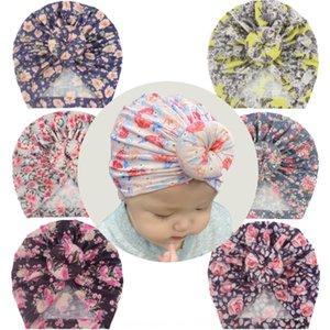 S7Zcu Hot Fashion Turban children's printed baby's donut headscarf Hot Fashion Turban pullover children's printed pullover hat baby's donut