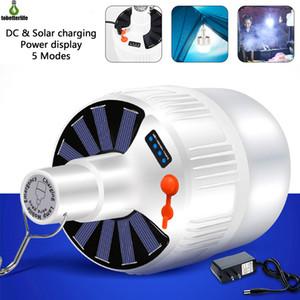 LED solaire Ampoule Ampoule Charging économie d'énergie lampe de nuit lumière lampe marché mobile camping en plein air Panne de courant Lampe d'urgence
