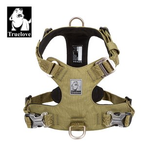 Truelove Dog Light Weight Harness Adjustable Outdoor Pet Medium Small Large Adjustable Outdoor Tactical Military Service TLH6281 CX200725