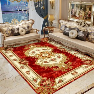 European and American Style Court Living Room Carpet Coffee Table Cushion Sofa Bedroom Full Room Home Bedside Persian Simple