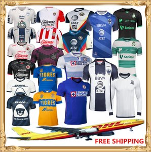 DHL Бесплатная доставка 2020 2021 Клуб Америка футбол Джерси 20 21 Тихуана Chivas Тигрес UANL Laguna НАУ футбол рубашка Размер может быть смешанной batc