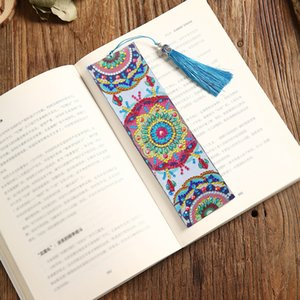 5D Diamond Painting Bookmark special shaped Diamond Embroidery Cross Stitch Mosaic Mandala series Kits Paint By Numbers Art DIY