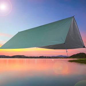 Plaj Su geçirmez Mat Güneş Gölge Sail 11.8' Kare Gölge Yüzme Güneş tente Kamp Yürüyüş Yard Yelken