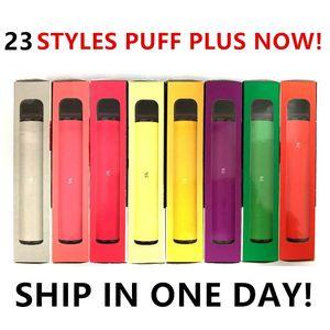 Melhor qualidade PUFF PLUS 800 + Puf descartável Pod eletrônico CigaretteVape Pods esvaziar vara Puff Bar PufBar luxuosas portátil Puff Xtra Bidi