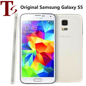 Original Samsung Galaxy S5 i9600 G900F G900V G900A G900T G900V With Original Battery Quad Core 2GB 16GB 4G LTE Refurbished Ulocked Phone