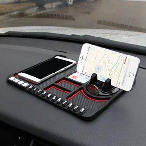 Barato - Multifuncional Car Anti-Slip Mat Auto Phone Holder não escorregar Fixo Anti Deslize traço Telefone Mount Silicone Painel do carro Mat Pad