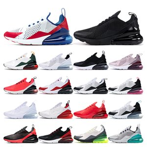 nike air max 270  branco volt triplo branco preto dot soco mulheres Teal sneaker homens formadores sapato esportes tamanho eur 36-45