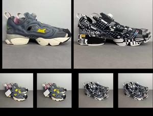 tênis de corrida das mulheres do monograma dos homens 20SSNew DEAL Instapump Fúria protótipo estilo chinês Tai Chi OG sneakers 36-44 transporte livre
