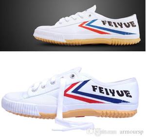 2018 vendita calda Feiyue ultra leggero pattino casuale Classic scarpe di tela naturale scarpe di gomma Kung fu arti marziali delle donne scarpe piane degli uomini'