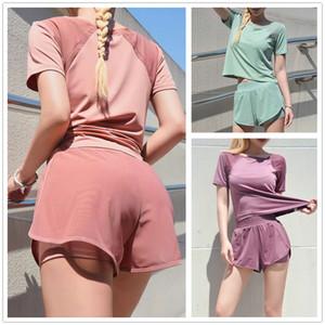 las mujeres chándales de las mujeres s mujeres determinadas conjuntos de dos piezas caliente de la apretada ocio atractivo de la manera femenina del verano camiseta body