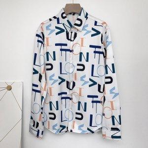 seestern Brand clothing Dress shirts 3D print Medusa shirts men long sleeve party club designer tops man nightclub snake