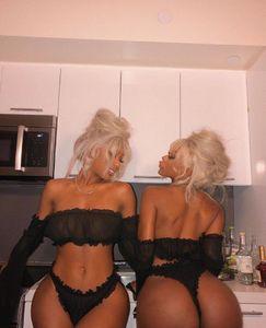 На складе 2pcs женщин сексуальный Satin Кружева пижамы женщин Пижамы Белье Nightdress Пижама Набор Lingeries женщина Бесплатная доставка