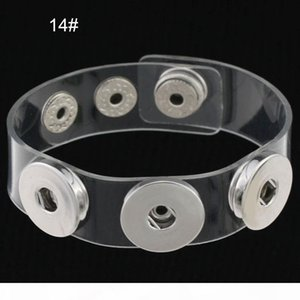G Charm Bracelets Silver Snap Fit Diy Snaps Buttons Jewelry 18mm Cheap Knot Ginger Snap Jewelry Leather Bracelets