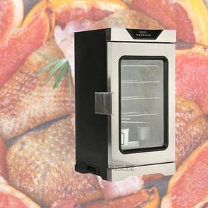 acier inoxydable Machine fumeur poisson électrique / saucisse de viande de fumer la machine électrique nourriture Smokehouse au four à vendre