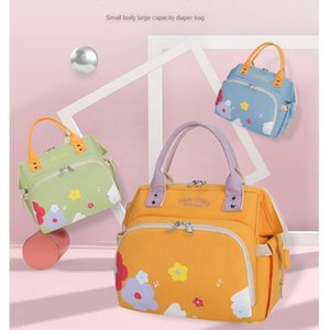 0r5rB 2020 2020 mother's new baby printing mommy portable single shoulder double shoulder mom bag large capacity new maternal and infant bag