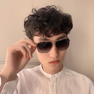 1157 Retro Square Frame Sunglasses And Square Metal Sunglasses NEW Fashion Womens Sunglasses Free Shipping Men Women Driving Glasses