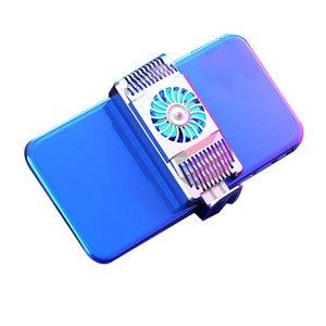 For 4-6.7 inch Cell Phone Cooler smart Mobile Phone Game Semiconductor Cooler Cooling Fan Radiator Exchanger Heat Conduction